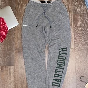 Dartmouth Nike joggers